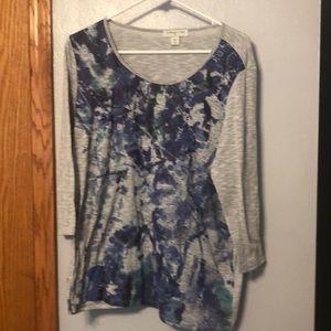 Light Weight 3/4 sleeve grey shirt